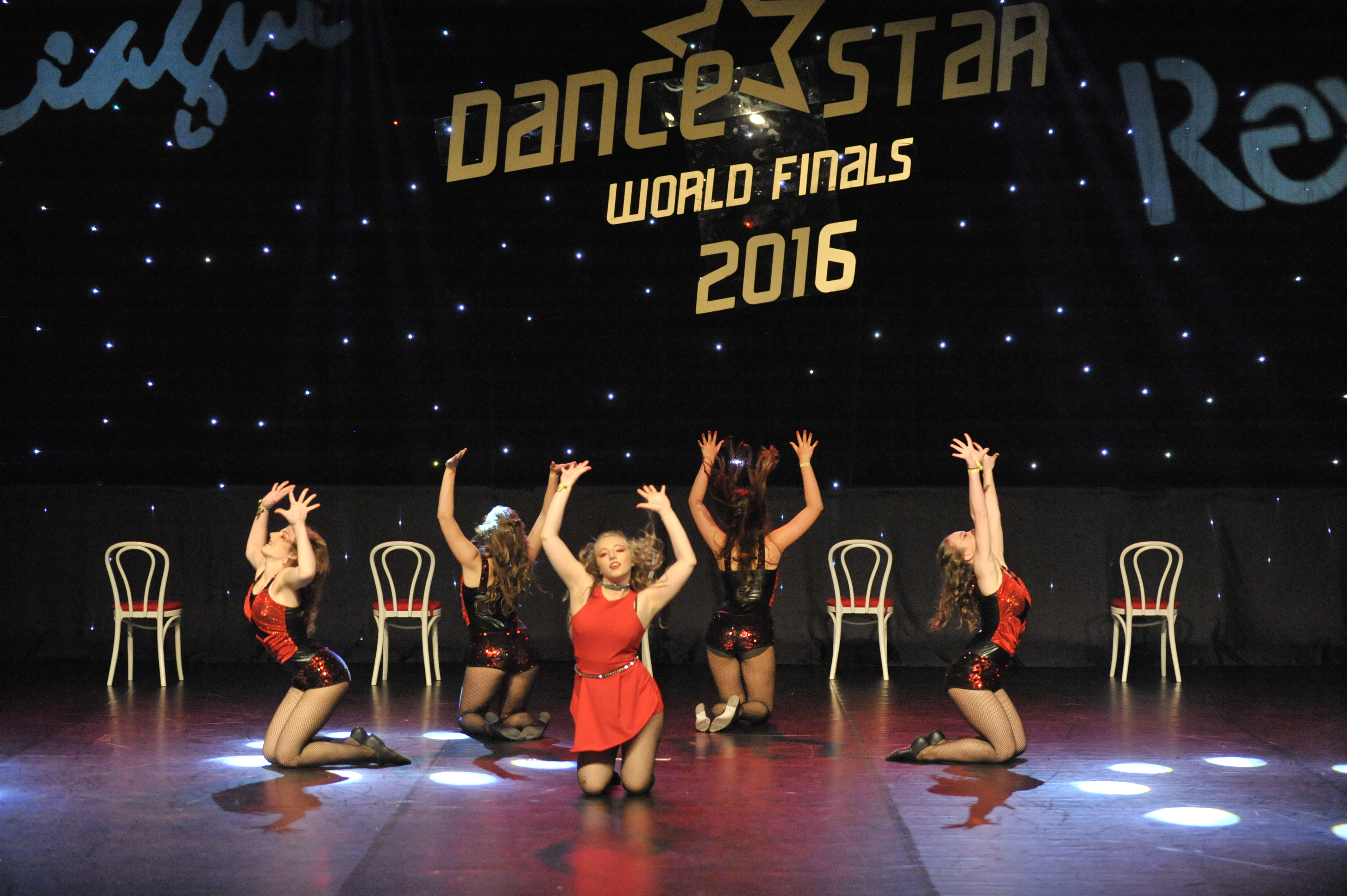 Dance Factory Teilnehmerinnen bei World Final 2016